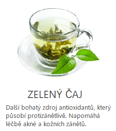 zeleny čaj